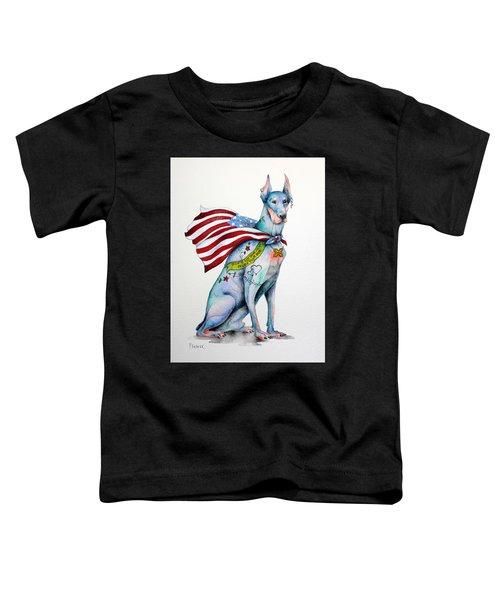 Doberman Napolean Toddler T-Shirt