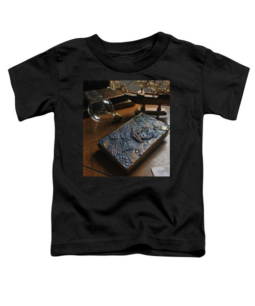 Doctor Who Steampunk Journal  Toddler T-Shirt
