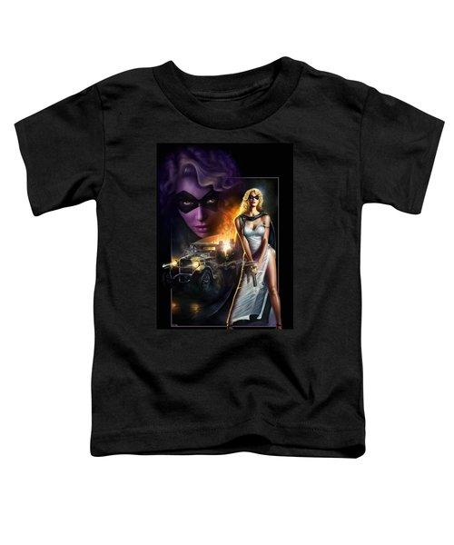 Domino Lady Toddler T-Shirt