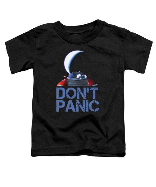 Don't Panic Starman Toddler T-Shirt