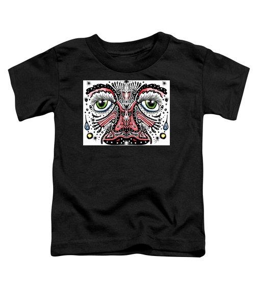 Doodle Face Toddler T-Shirt