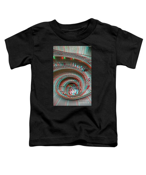 Down Stairs Anaglyph 3d Toddler T-Shirt