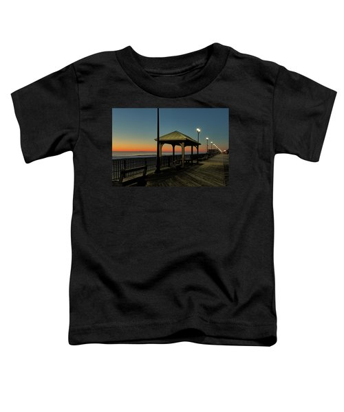 Down The Shore At Dawn Toddler T-Shirt