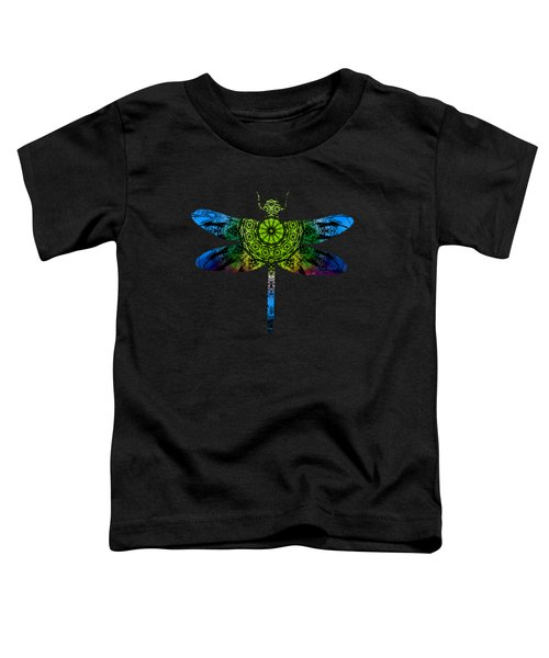 Dragonfly Kaleidoscope Toddler T-Shirt