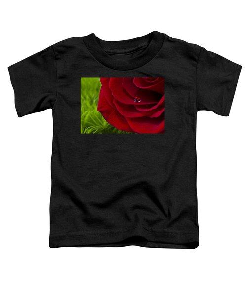 Drop On A Rose Toddler T-Shirt