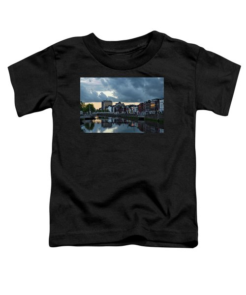 Dublin Sky At Sunset Toddler T-Shirt