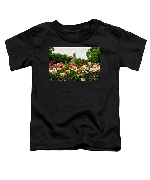 Duke Chapel And Roses Toddler T-Shirt