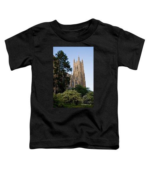 Duke Chapel Side View Toddler T-Shirt