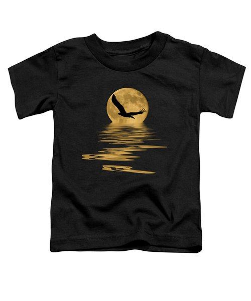 Eagle In The Moonlight Toddler T-Shirt