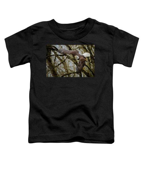 Eagle Take Off Toddler T-Shirt