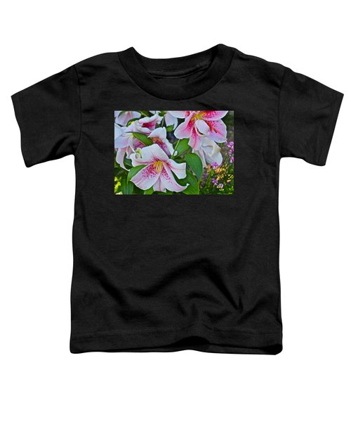 Early August Tumble Of Lilies Toddler T-Shirt