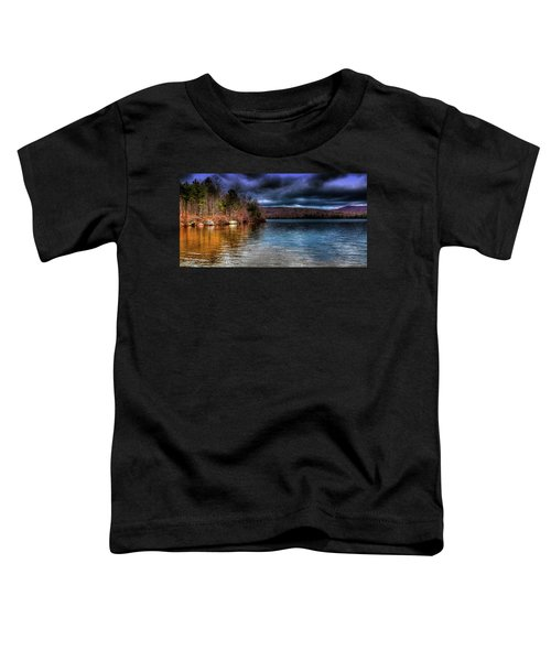 Toddler T-Shirt featuring the photograph Early May On Limekiln Lake by David Patterson