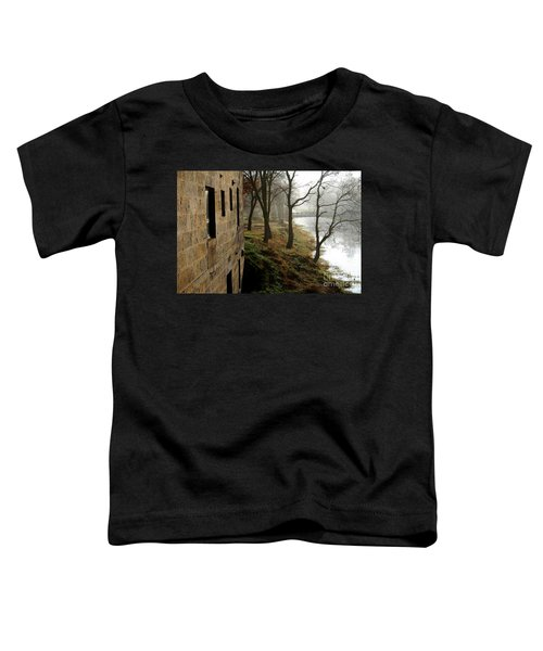 Early Morning Mist On The I  M Canal Toddler T-Shirt