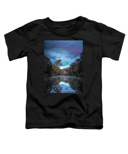 Early Morning Reflection Toddler T-Shirt