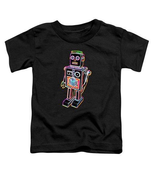 Easel Back Robot Toddler T-Shirt