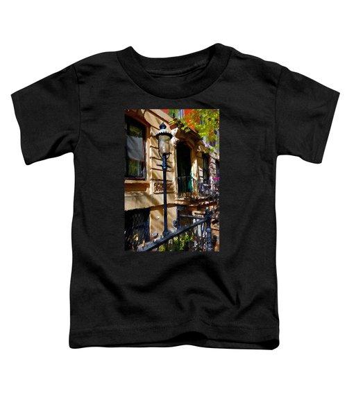 East Village New York Townhouse Toddler T-Shirt