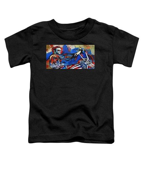Easy Rider Captain America Toddler T-Shirt