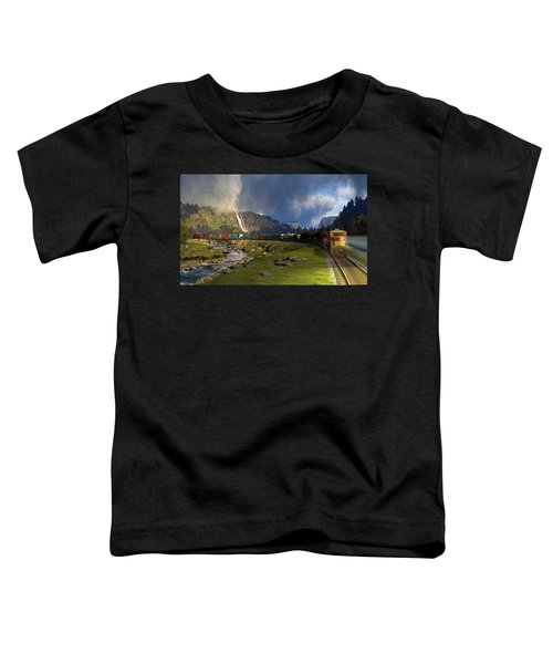 Echoes From The Caboose Toddler T-Shirt