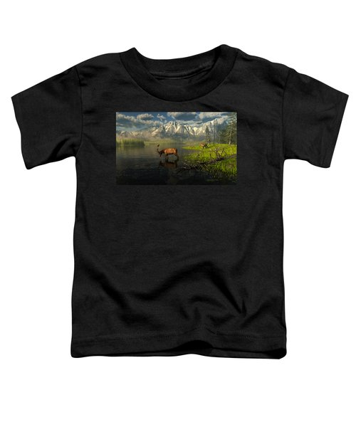 Echoes Of A Lost Frontier Toddler T-Shirt