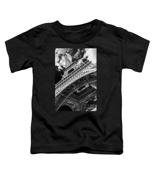 Eiffel Tower Infrared Abstract Toddler T-Shirt