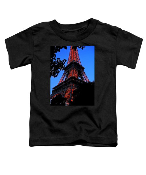 Eiffel Tower Toddler T-Shirt