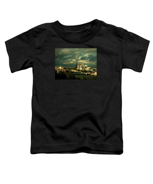 Eiffel Tower Paris France Toddler T-Shirt