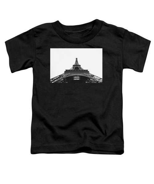 Toddler T-Shirt featuring the photograph Eiffel Tower Perspective  by MGL Meiklejohn Graphics Licensing