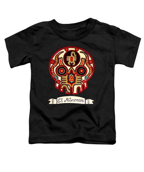 El Alacran - The Scorpion Toddler T-Shirt by Mix Luera