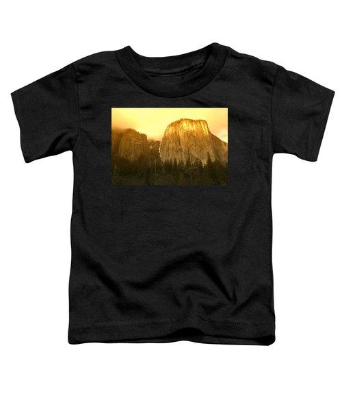 El Capitan Yosemite Valley Toddler T-Shirt