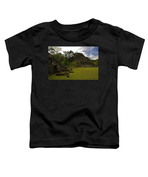 El Castillo Pyramid At Xunantunich Toddler T-Shirt