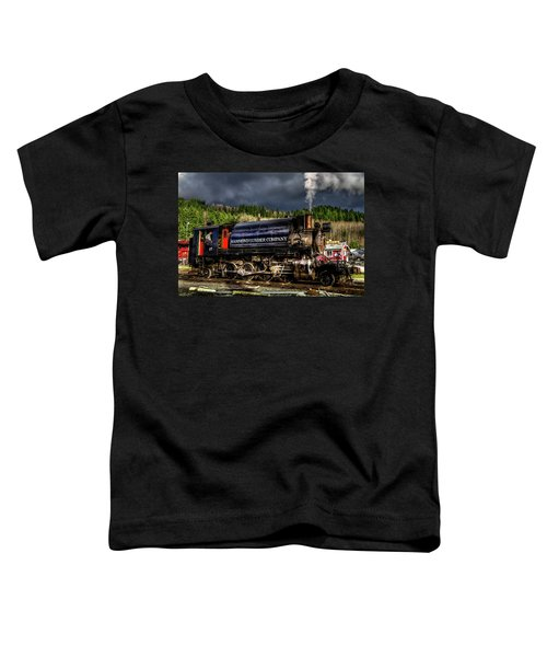 Elbe Steam Engine 17 Hdr 2  Toddler T-Shirt