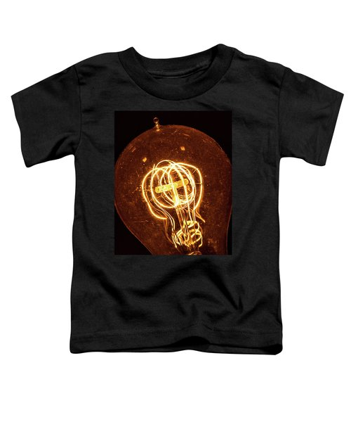 Electricity Through Tungsten Toddler T-Shirt