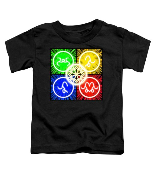 Toddler T-Shirt featuring the digital art Elements Of Consciousness by Shawn Dall