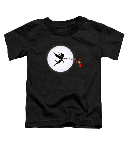 Elf Starry Night Toddler T-Shirt by Koko Priyanto