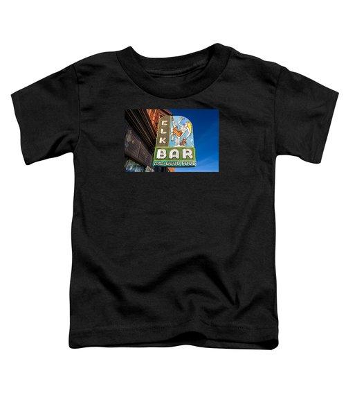 Elk Bar Neon Toddler T-Shirt