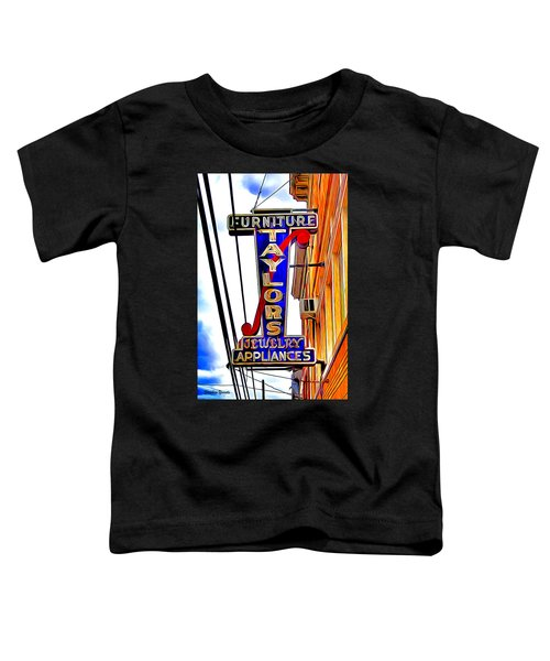 Ellicott City Taylor's Sign Toddler T-Shirt