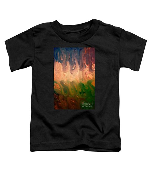 Emotion Acrylic Abstract Toddler T-Shirt