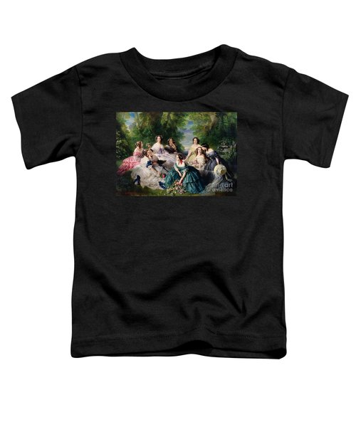 Empress Eugenie Surrounded By Her Ladies In Waiting Toddler T-Shirt
