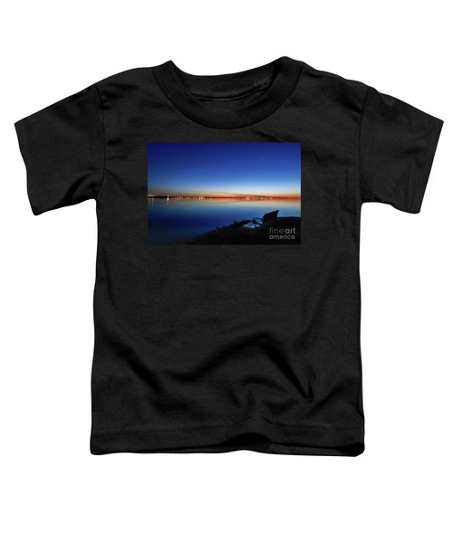 Empty Seat Watching The Moon Toddler T-Shirt