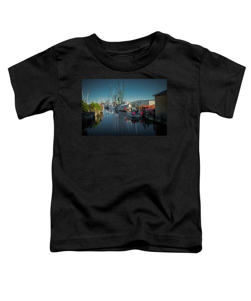 Toddler T-Shirt featuring the photograph Englehardt,nc Fishing Town by Donald Brown