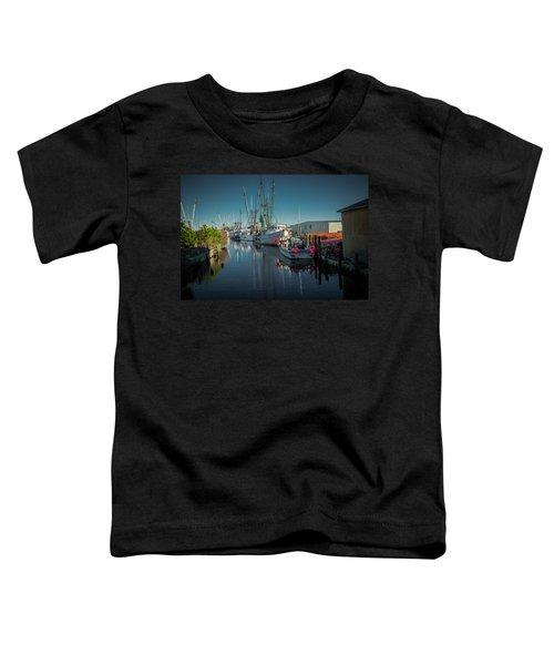 Englehardt,nc Fishing Town Toddler T-Shirt