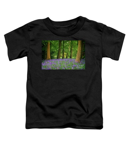 English Bluebell Woodland Toddler T-Shirt