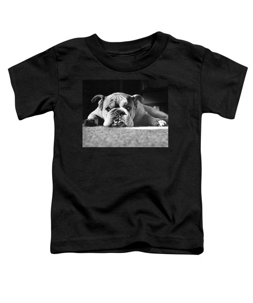 English Bulldog Toddler T-Shirt