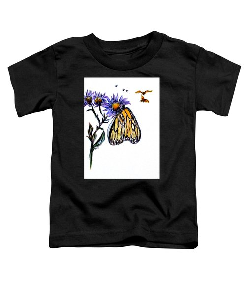 Erika's Butterfly One Toddler T-Shirt