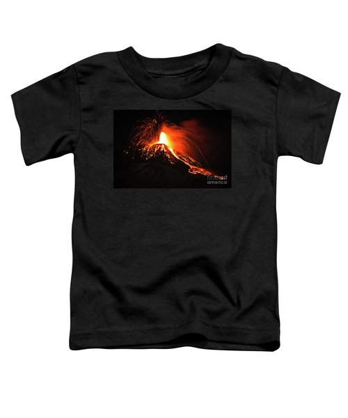 Italy, Sicily,etna Toddler T-Shirt