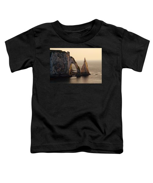 Toddler T-Shirt featuring the photograph Etretat In Morning Sun by Jaroslaw Blaminsky