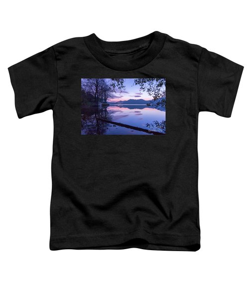 Evening By The Lake Toddler T-Shirt