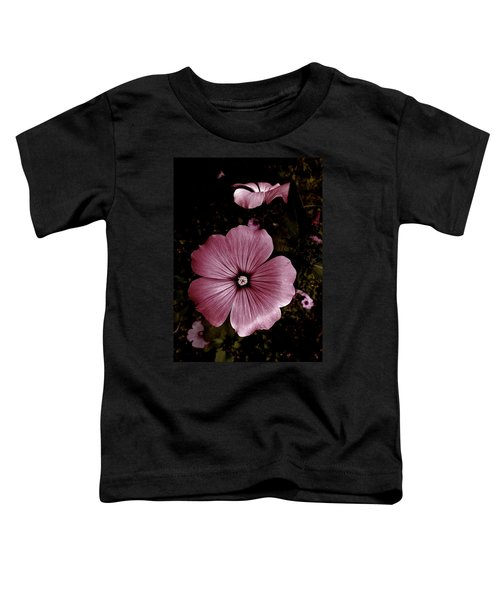 Evening Rose Mallow Toddler T-Shirt