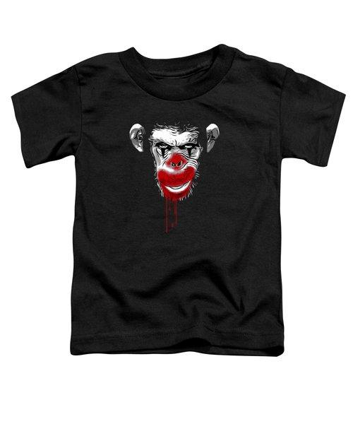 Evil Monkey Clown Toddler T-Shirt