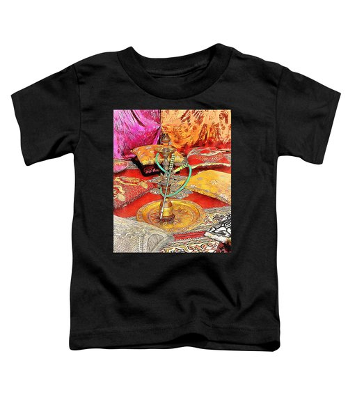 Exotic Oriental Hookah Pipe 2 Toddler T-Shirt